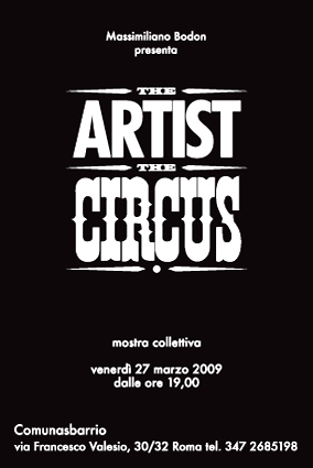 the artist and the circus